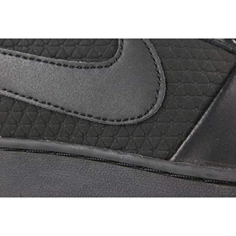 detailed look 09280 fc524 Nike , Ebernon Mid Winter Gymnastics Shoes, Black gum Lt Brown 001, 6.