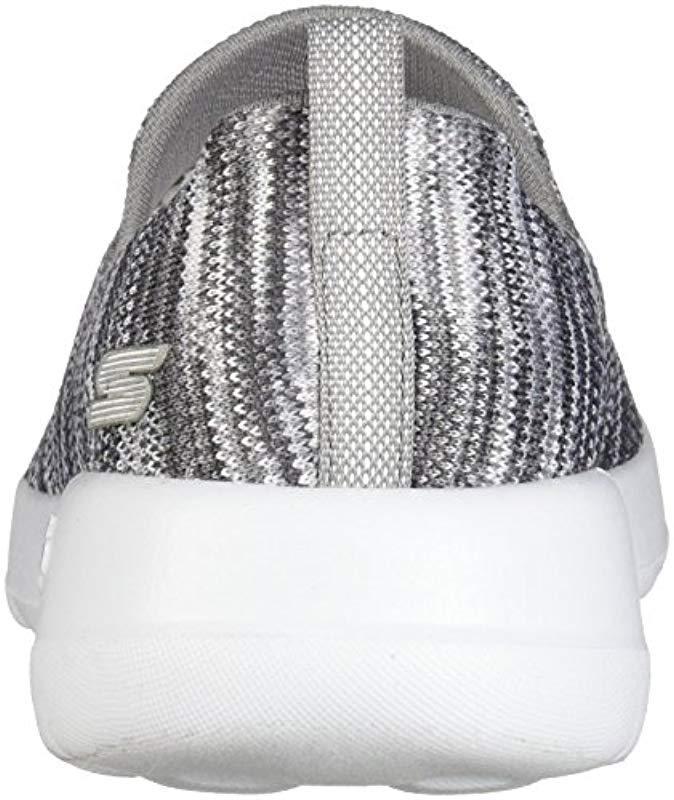Skechers Go Walk Joy 15615 Wide Sneaker in Gray Lyst