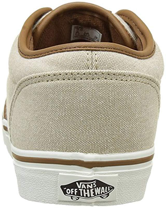 1246492e83 Vans Atwood Low-top Sneakers in Natural for Men - Lyst