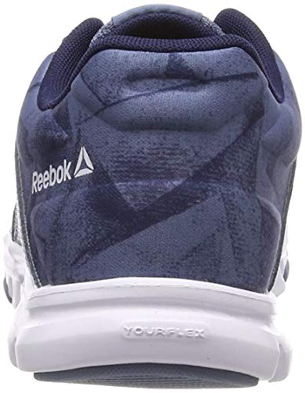 a29814c75fb347 Reebok Yourflex Trainette 10 Mt Fitness Shoes in Blue - Lyst