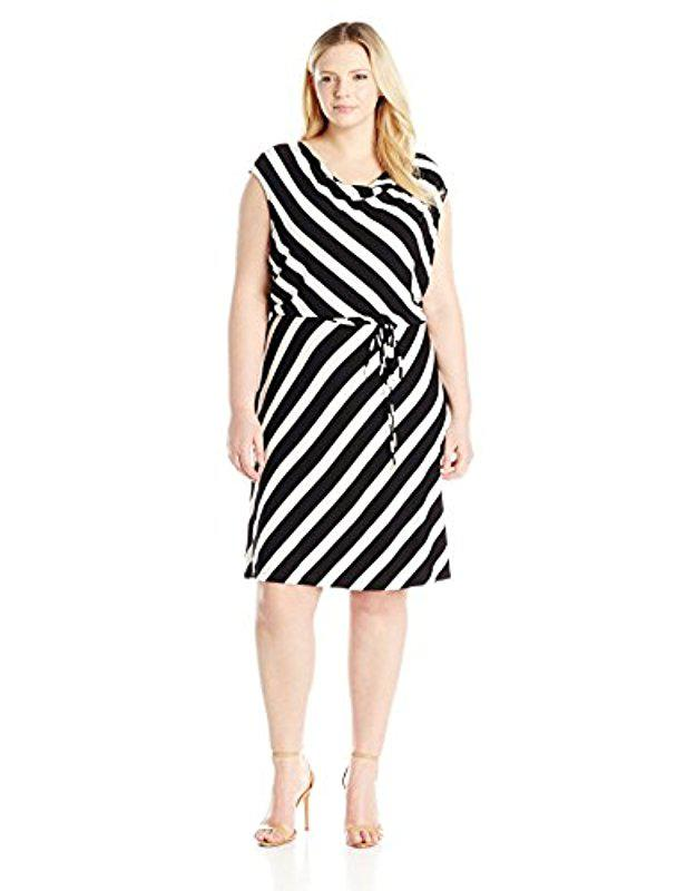 Striped short dress CALVIN KLEIN 205W39NYC my6wbmAH2