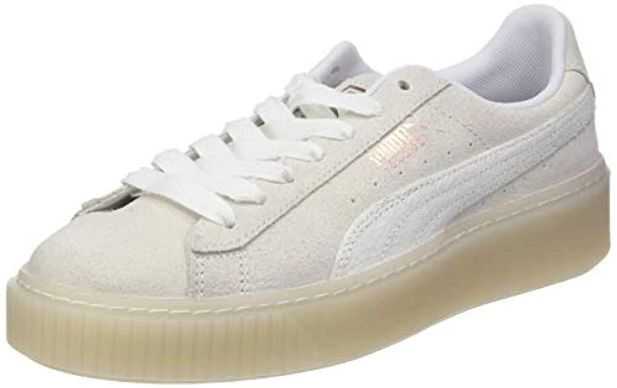 PUMA Suede Platform Artica Wn s Low-top Sneakers in White - Lyst 6c65a30f417