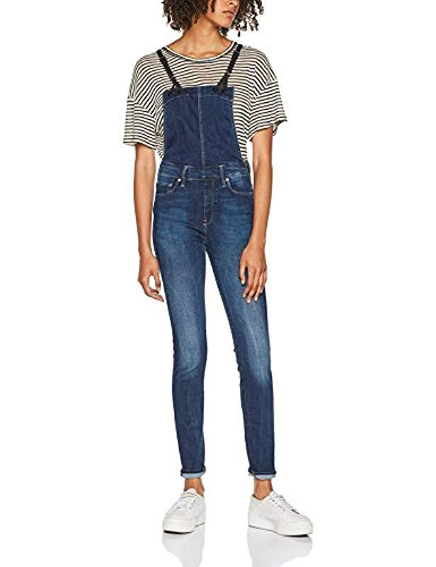 c34629a6b4be G-Star Raw Jumpsuit in Blue - Lyst