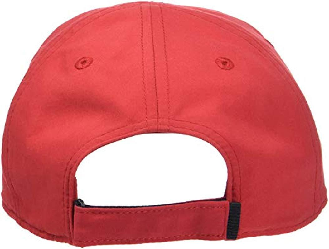 4ddc7e713 Lacoste Rk2464 Baseball Cap in Red for Men - Save 3% - Lyst
