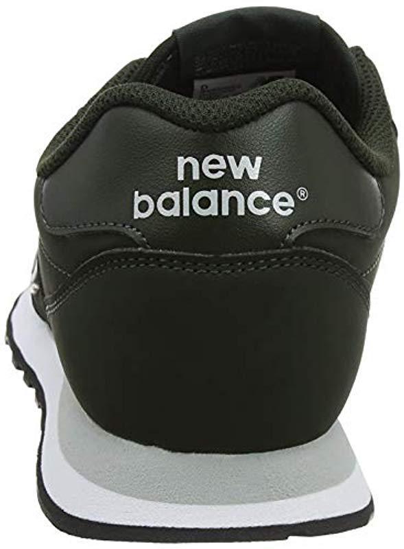 f19de77e245be New Balance - Green 's 500 Trainers for Men - Lyst. View fullscreen