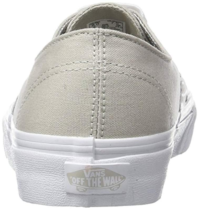 3e468aa749 Vans - Metallic Ua Authentic Decon Low-top Sneakers - Lyst. View fullscreen