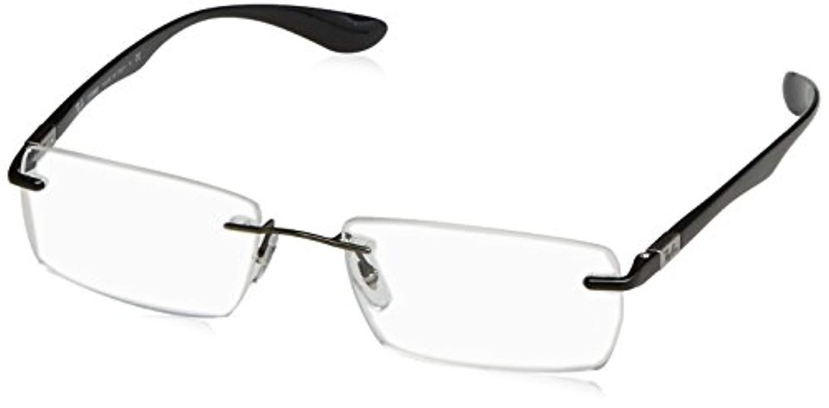 ff845d939b8 Ray-Ban 0rx 8724 1000 54 Optical Frames