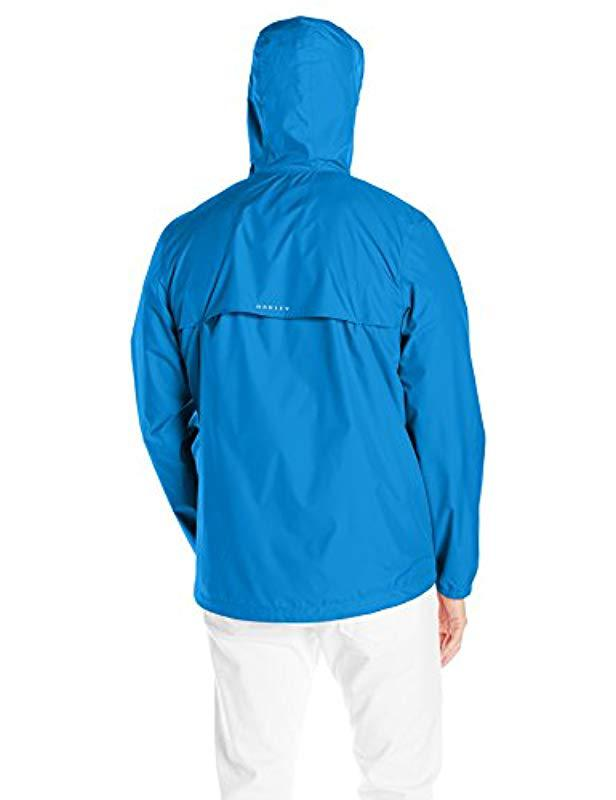 90e6d694443 Oakley Mens 365 Windbreaker Jacket Windbreaker Jacket in Blue for Men - Lyst