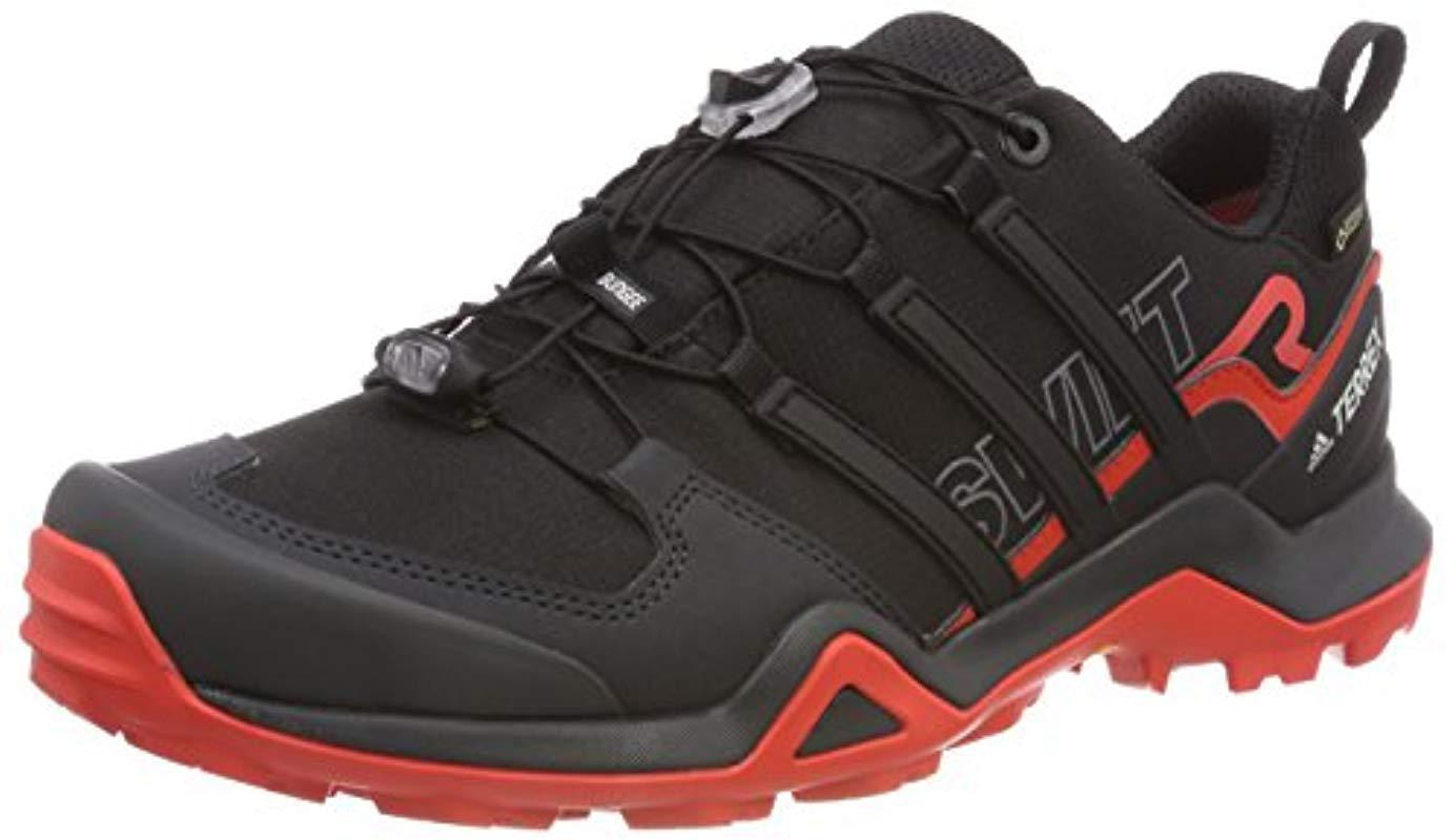 087bd2437 adidas Terrex Swift R2 Gtx Cross Trainers in Black for Men - Lyst adidas  men s terrex
