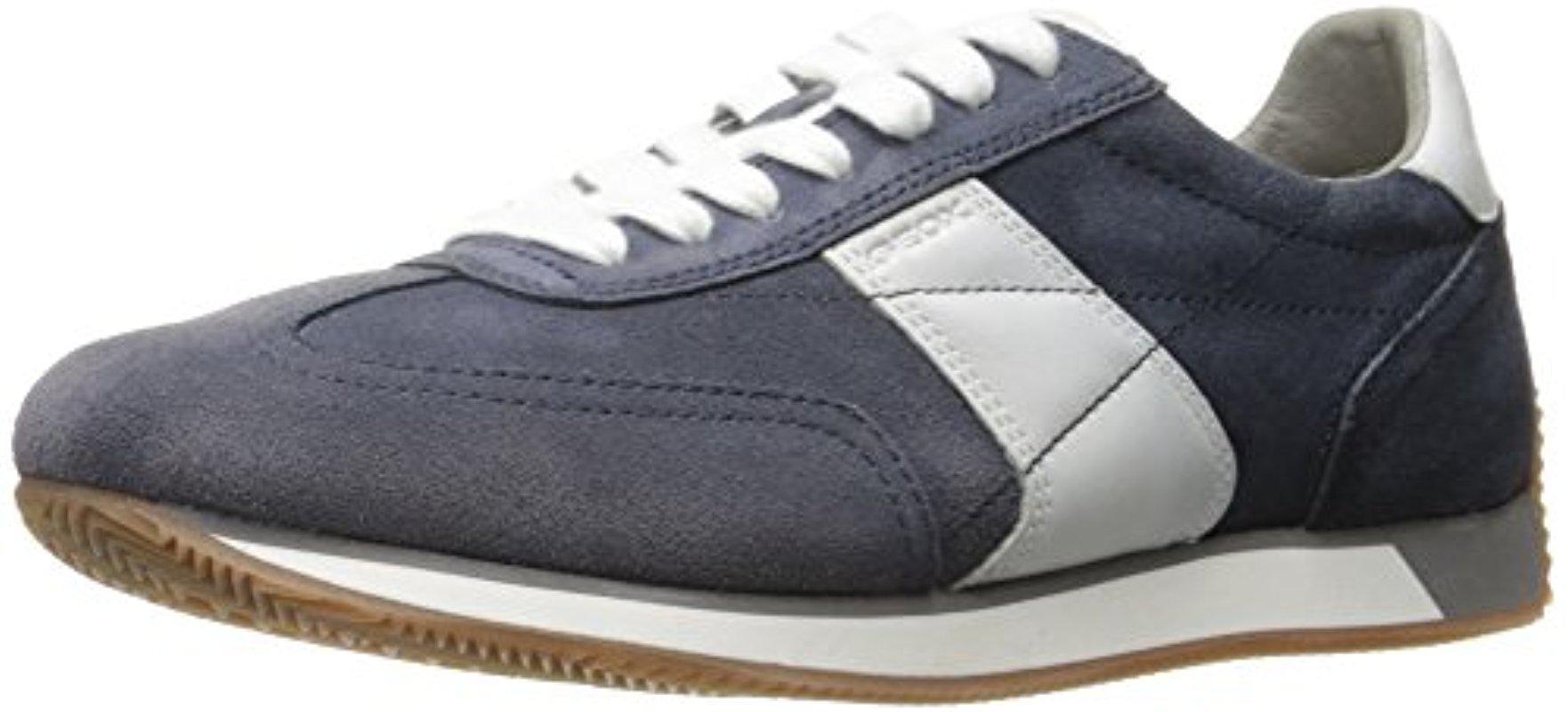 Mens U Vinto a Fashion Sneaker, Navy Geox