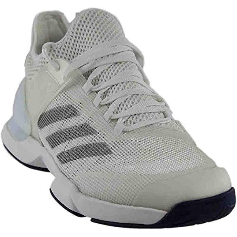finest selection 79c69 f9f9d View fullscreen  premium selection c172b 41629 Adidas - Metallic Adizero  Ubersonic 2 Tennis Shoe for Men - Lyst