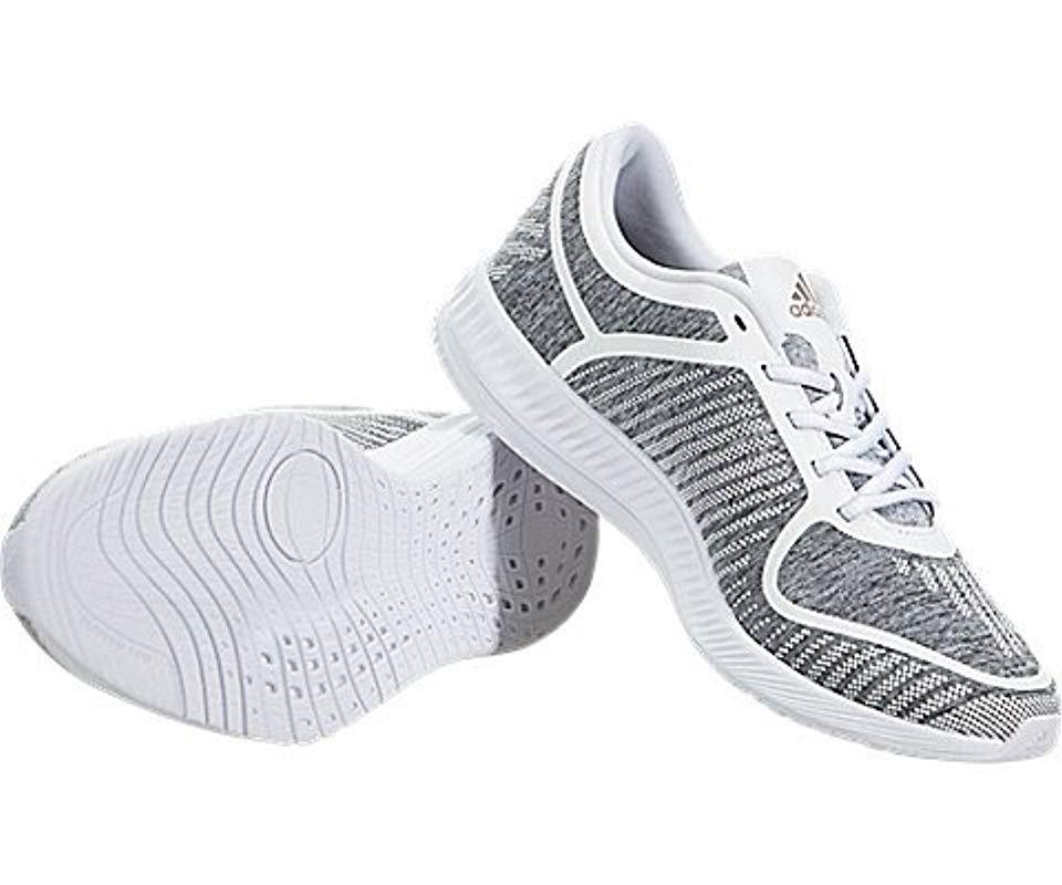 Lyst Adidas Leichtathletik Bounce Cross Trainer Schuhe in Grau