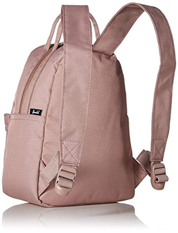 Lyst - Herschel Supply Co. Nova X Small Backpack In Rose. in Pink 7070009fb5