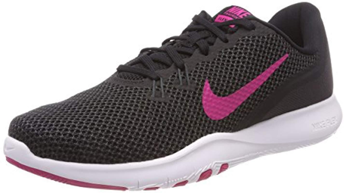 f24fee5aafd9 Nike W Flex Trainer 7 Fitness Shoes in Black - Lyst