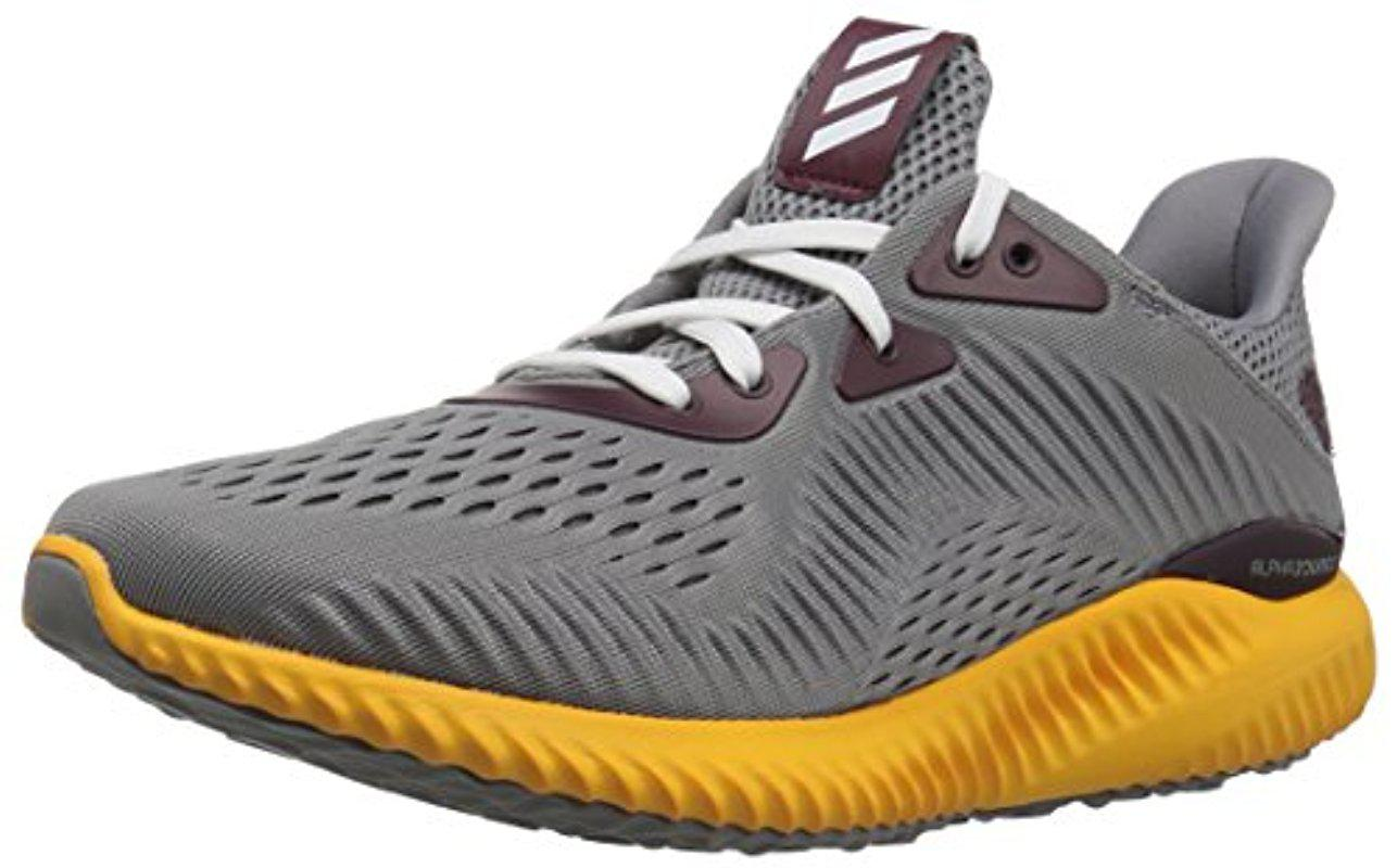 info for 54817 4acee Lyst - adidas Alphabounce Em U Running Shoe in Gray for Men
