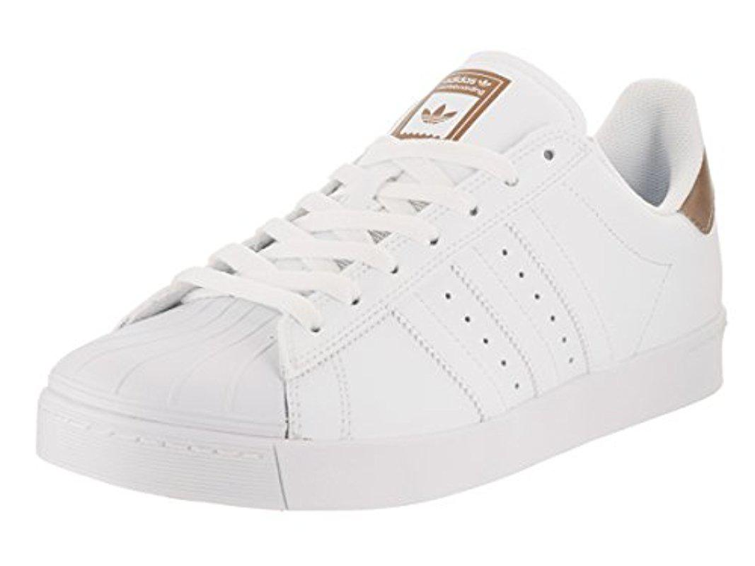 competitive price 6bb6d 1ab5d adidas Originals. Mens White Superstar Vulc Adv Shoes