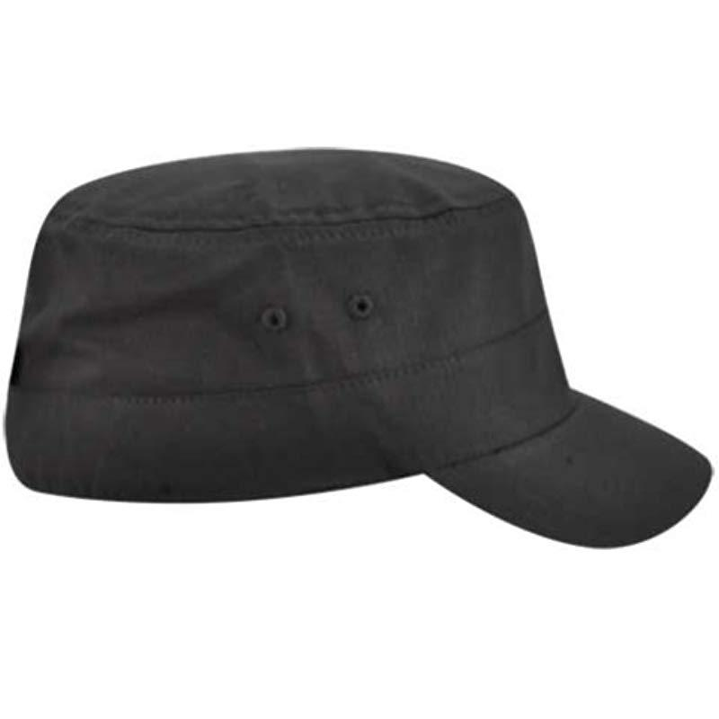 f07e4d71be2fb6 Lyst - Kangol Ripstop Army Cap in Black for Men