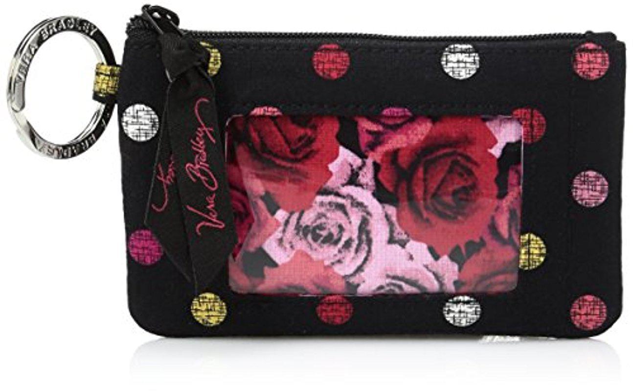 finest selection 81750 97776 Vera Bradley - Multicolor Zip Id Case, Signature Cotton - Lyst