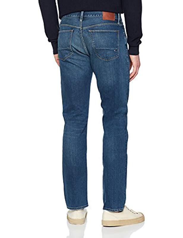 bf358961 Tommy Hilfiger Mercer-str Tucson Indigo Tapered Fit Jeans in Blue for Men -  Lyst