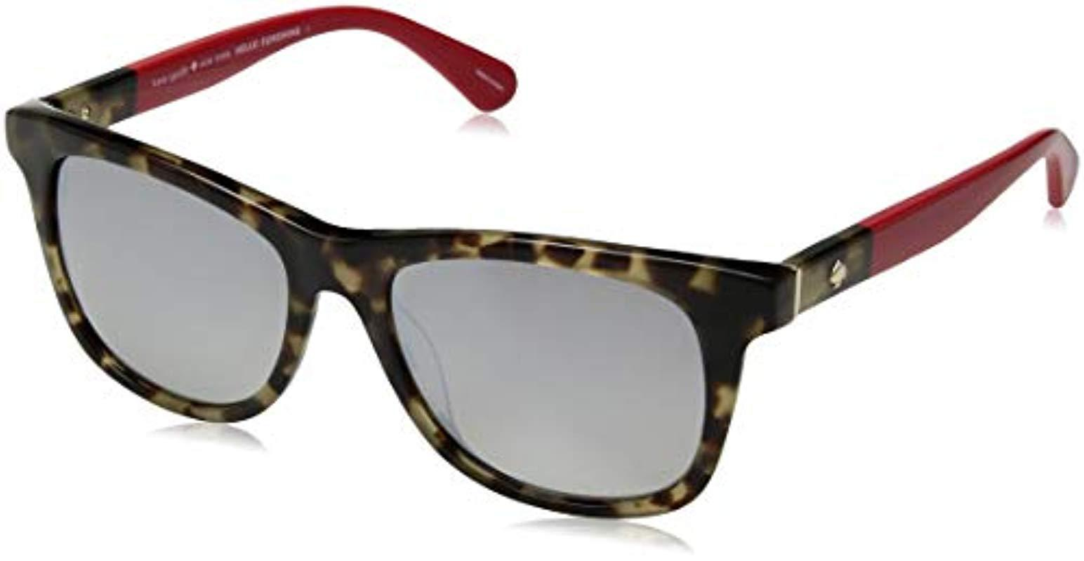 2bf6903fb5 Kate Spade. Women s Kate Spade Charmine s Rectangular Sunglasses ...