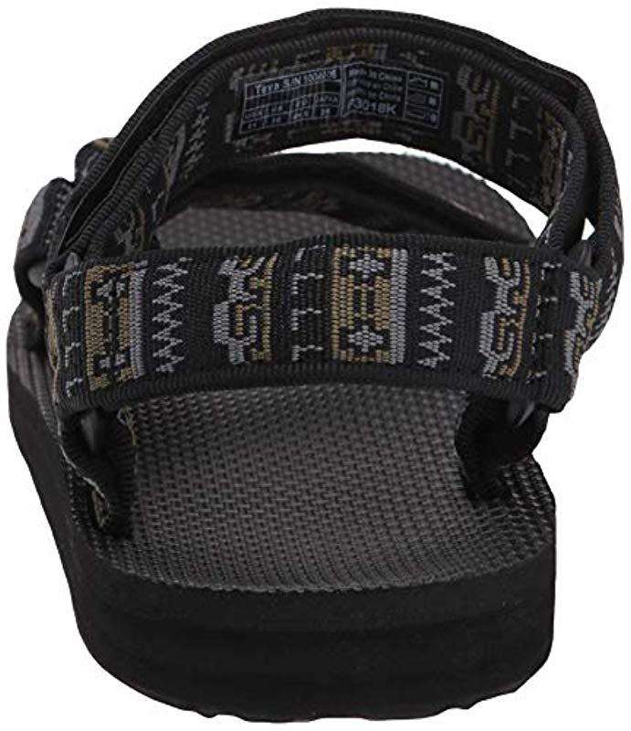 adaffe504b78b Teva - Black M Original Universal Sandal for Men - Lyst. View fullscreen