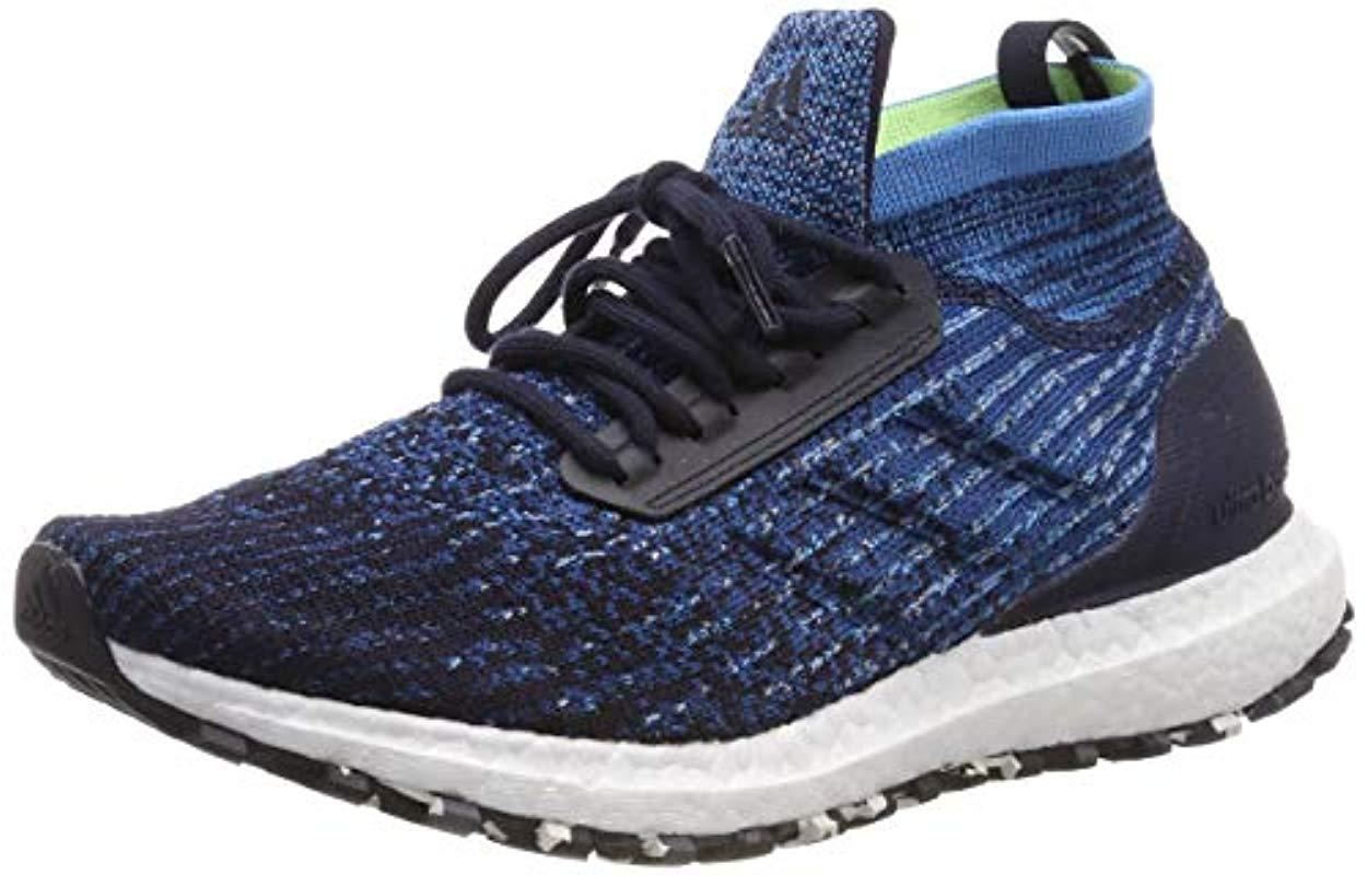 5271c4f15 adidas Ultraboost All Terrain Running Shoes in Blue for Men - Lyst