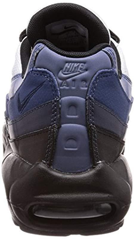 1f8058a2e0 Nike - Blue Air Max 95 Essential Low-top Sneakers for Men - Lyst. View  fullscreen