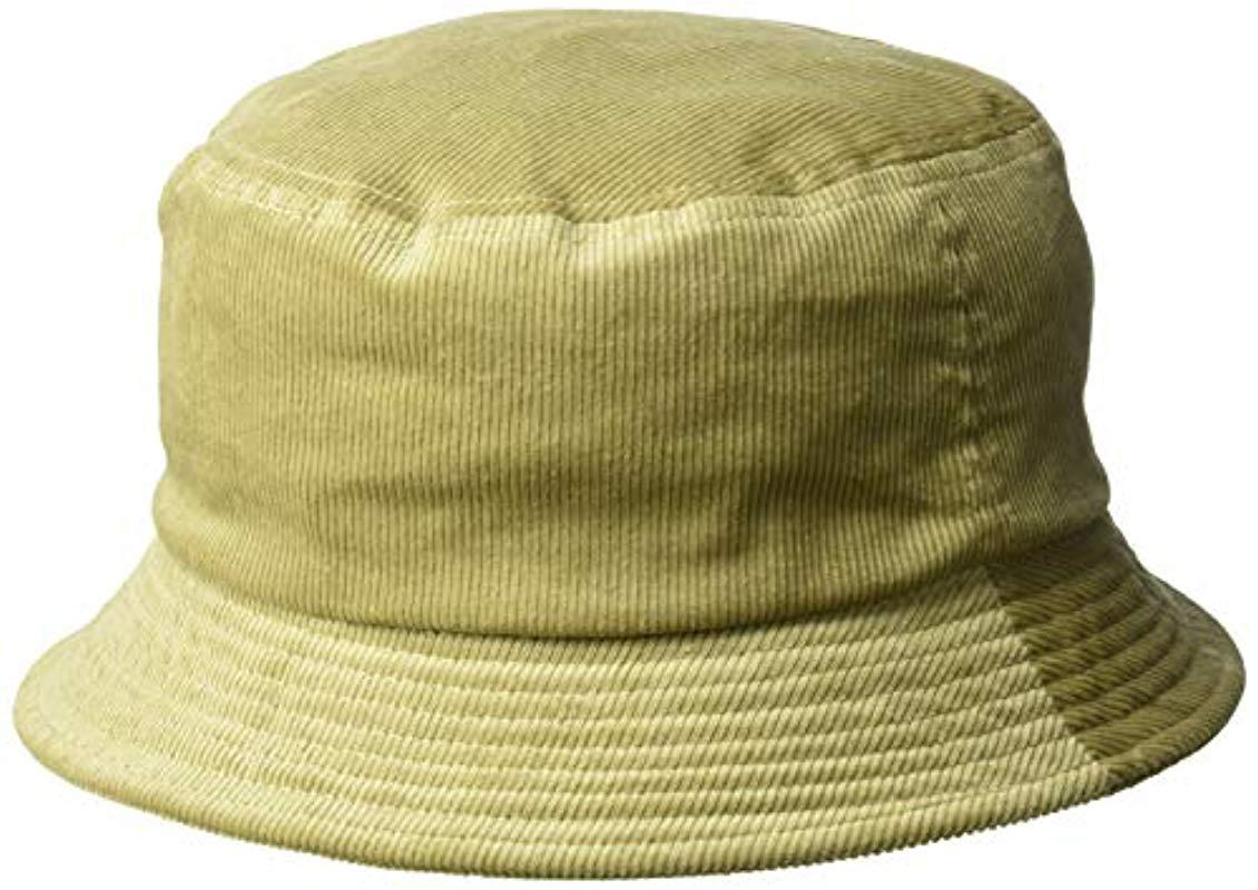 Lyst - Kangol Cord Bucket Hat in Natural for Men c06d67ed452c