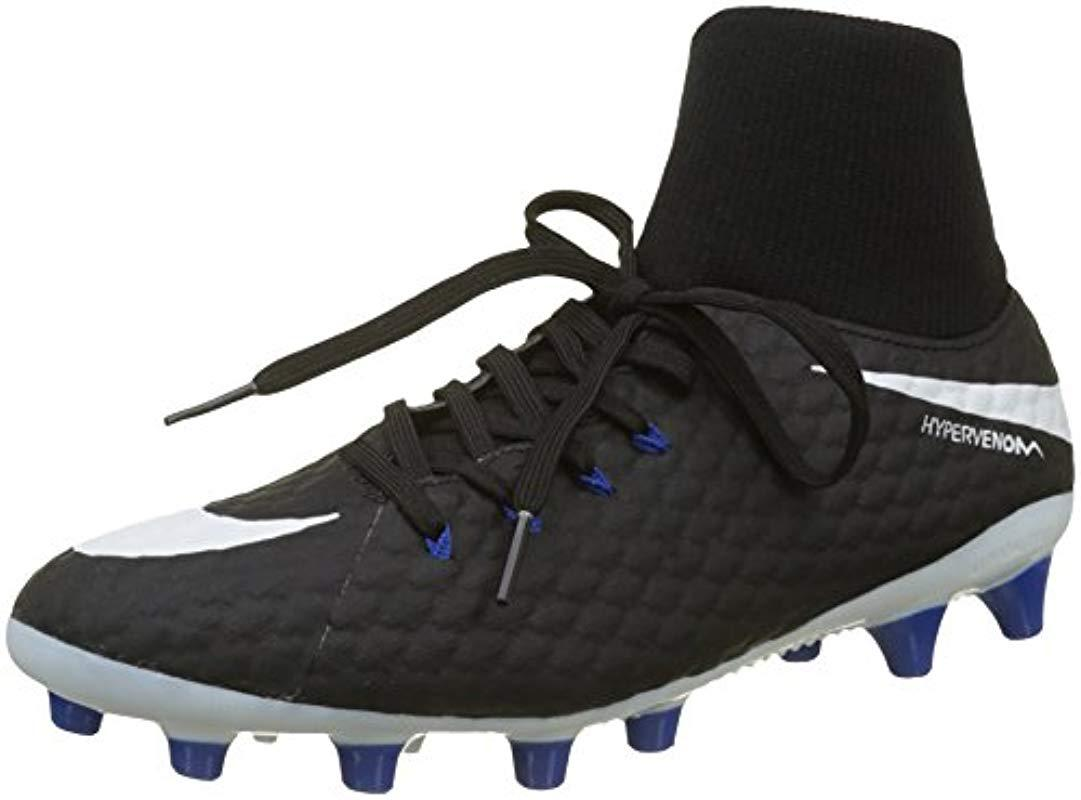 reputable site 31a83 9a24b Nike Hypervenom Phelon 3 Df Ag-pro Football Boots in Black for Men ...