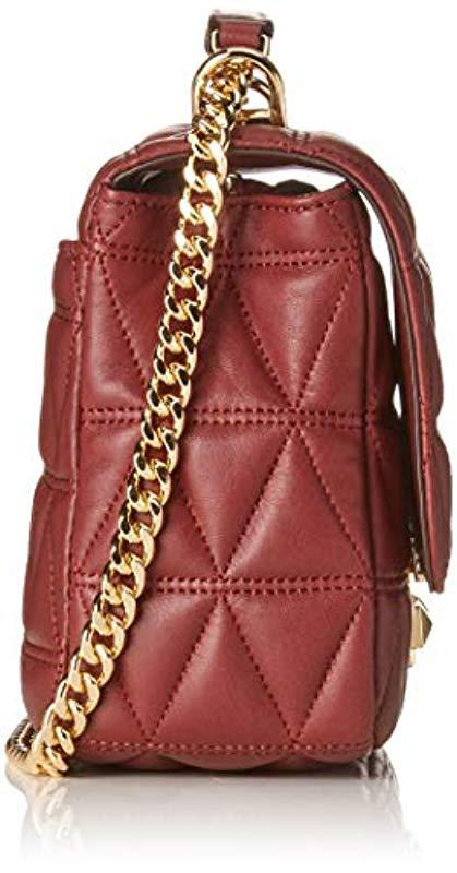 74967898ce Michael Kors Borse A Spalla Donna Rosso (30s7gsll3l) in Red - Save ...
