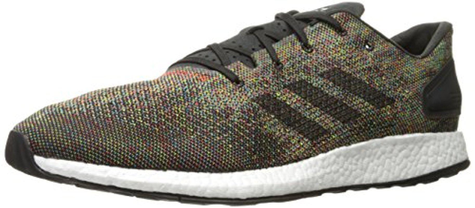 Lyst Adidas Pureboost Dpr N. Ltd Nero Scarpa Da Corsa In Nero Ltd Per Gli Uomini. e64d13