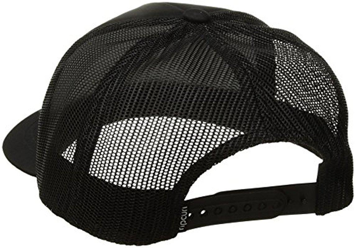 c997948e8bb553 Rip Curl Super Wetty Trucker Hat in Black - Lyst