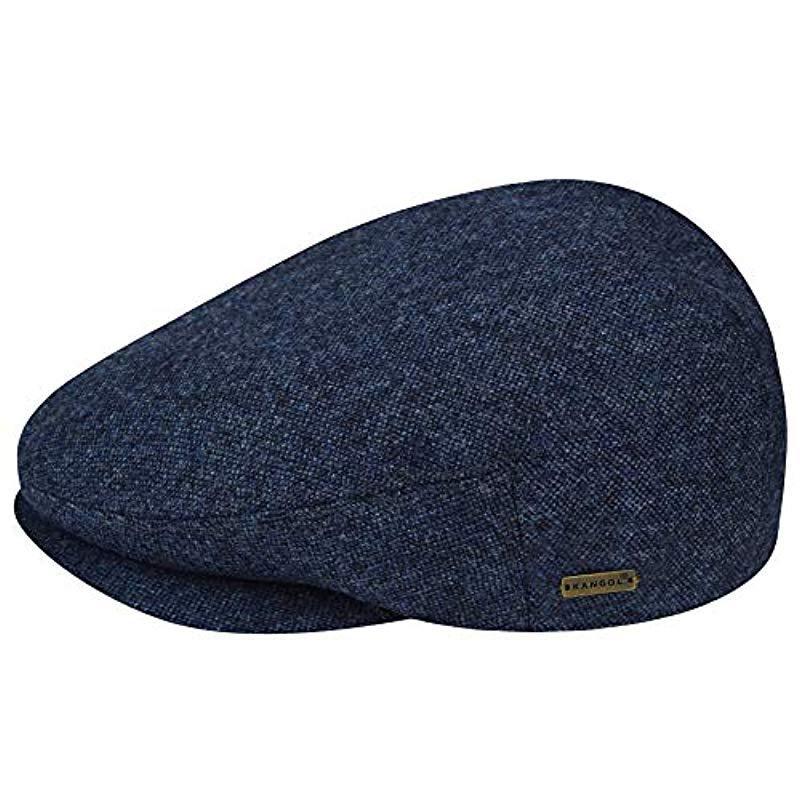 Kangol - Blue British Peebles Flat Ivy Cap Hat for Men - Lyst. View  fullscreen 99a9c70cf4b6