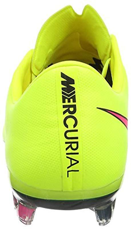quality design 0514a e1d46 Nike - Yellow Mercurial Vapor X Fg,  s Footbal Shoes for Men - Lyst. View  fullscreen