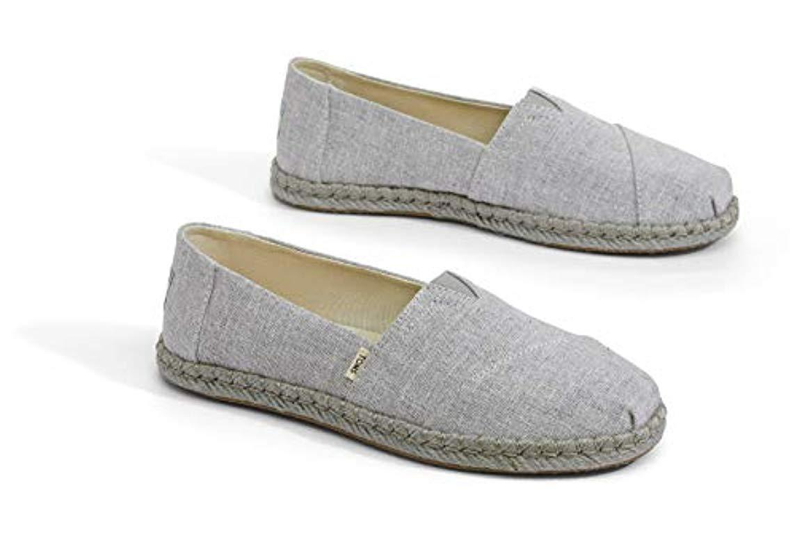 0c8d2af498d TOMS - Gray Classic Canvas Slip-on Shoe - Lyst. View fullscreen
