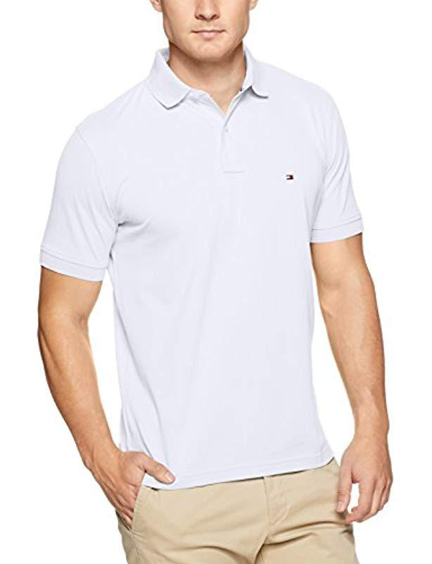 73a5820797c Tommy Hilfiger Core Tommy Regular Polo Shirt in White for Men - Lyst