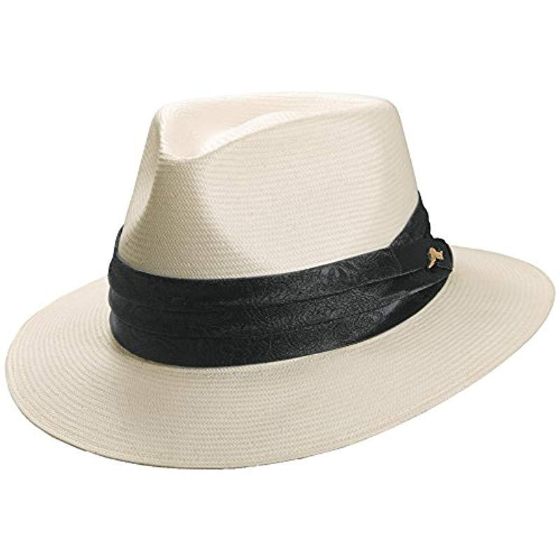c2f3028378b23 Lyst - Tommy Bahama Toyo Safari Hat in Natural for Men