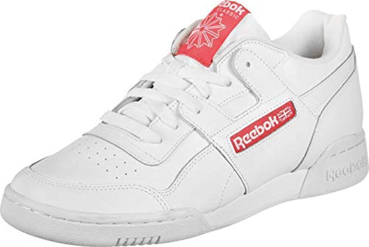 d24f3e312d4 Reebok Workout Plus Mu Gymnastics Shoes in White for Men - Lyst