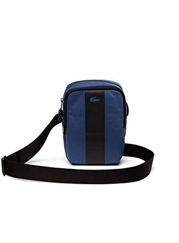 12db67aa0396a3 Lacoste Nh2664tk Shoulder Bag in Blue for Men - Lyst