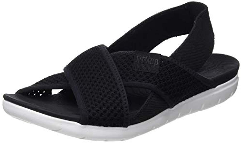 89e092196 Fitflop Airmesh Sling Back Sandals in Black - Lyst