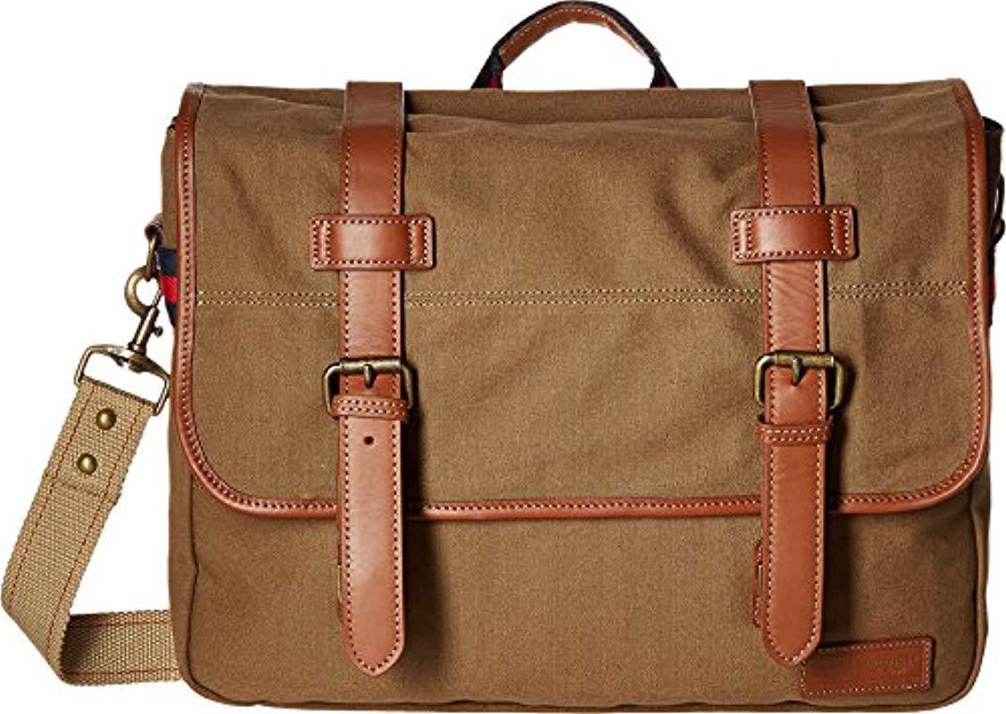 08e0c29fa6 Lyst - Tommy Hilfiger Workhorse Canvas Messenger Bag for Men