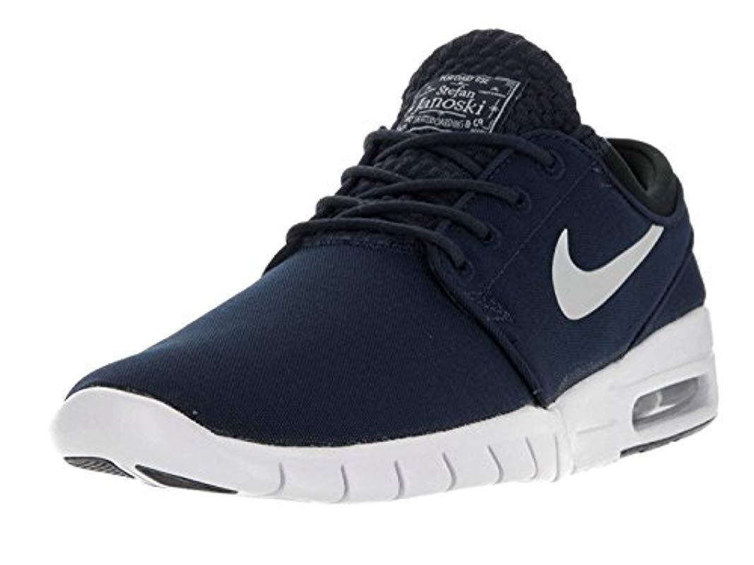 c3e1f459f9b Nike Stefan Janoski Max  s Skateboarding Shoes in Blue for Men - Lyst