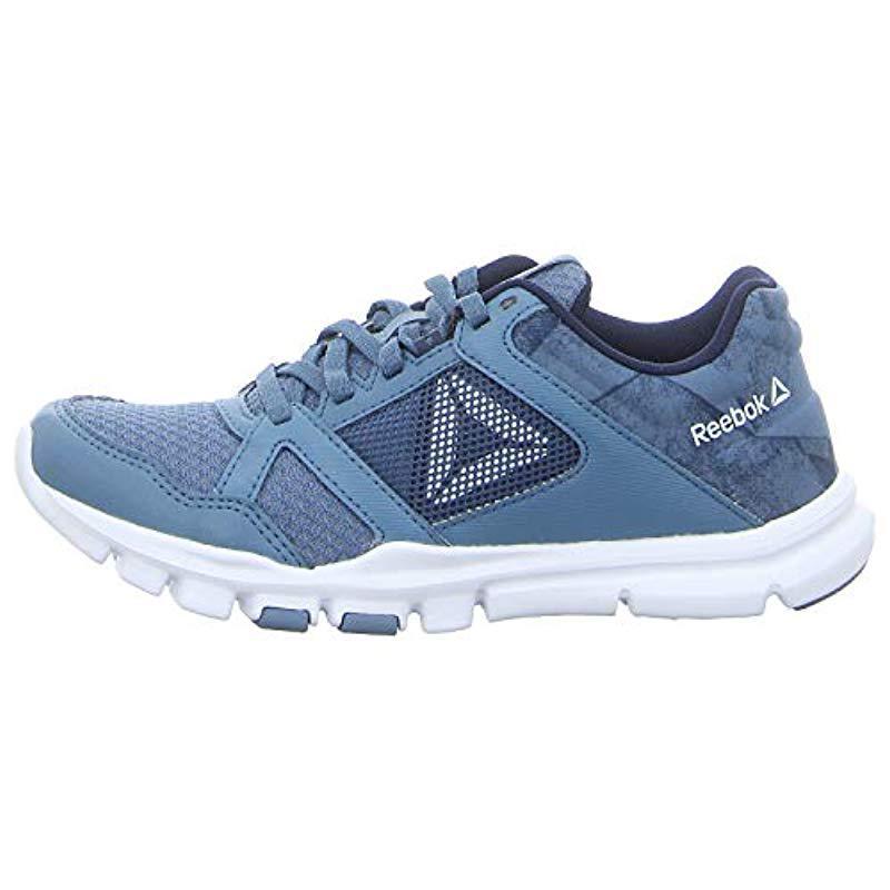 Reebok Yourflex Trainette 10 Mt Fitness Shoes in Blue - Lyst fa66fedb7