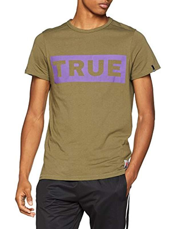 f22f16393 True Religion Crew Shirt True Olive T in Green for Men - Lyst