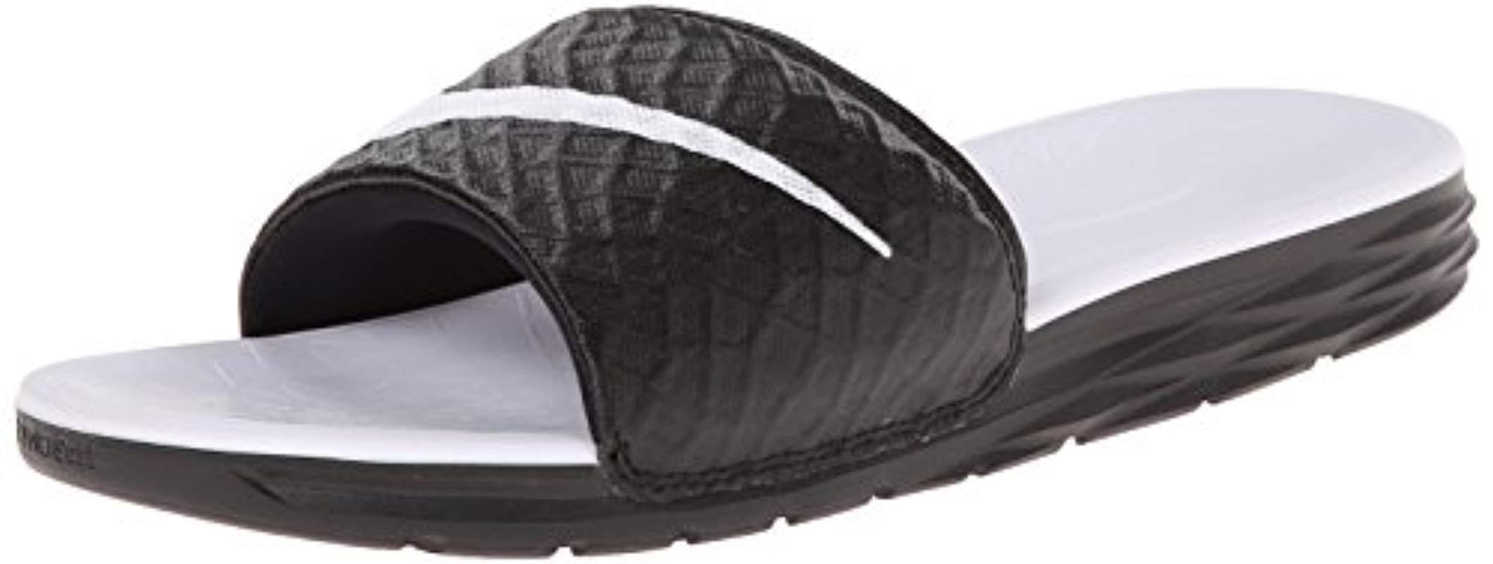 3ce3ec201471 Nike. Women s Black Wmns Benassi Solarsoft