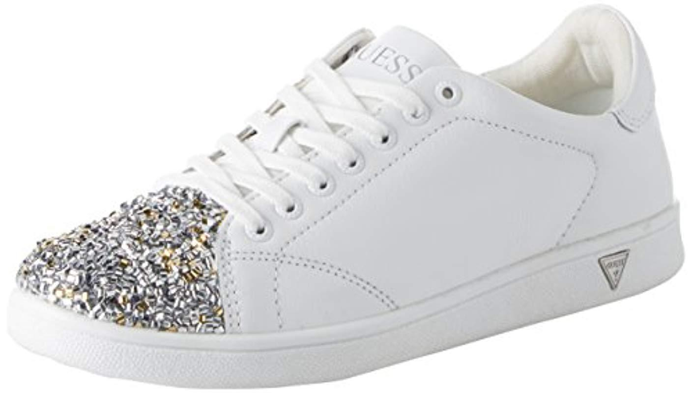 ec0875b7b67 Guess  s Footwear Active Lady Trainers in White - Lyst