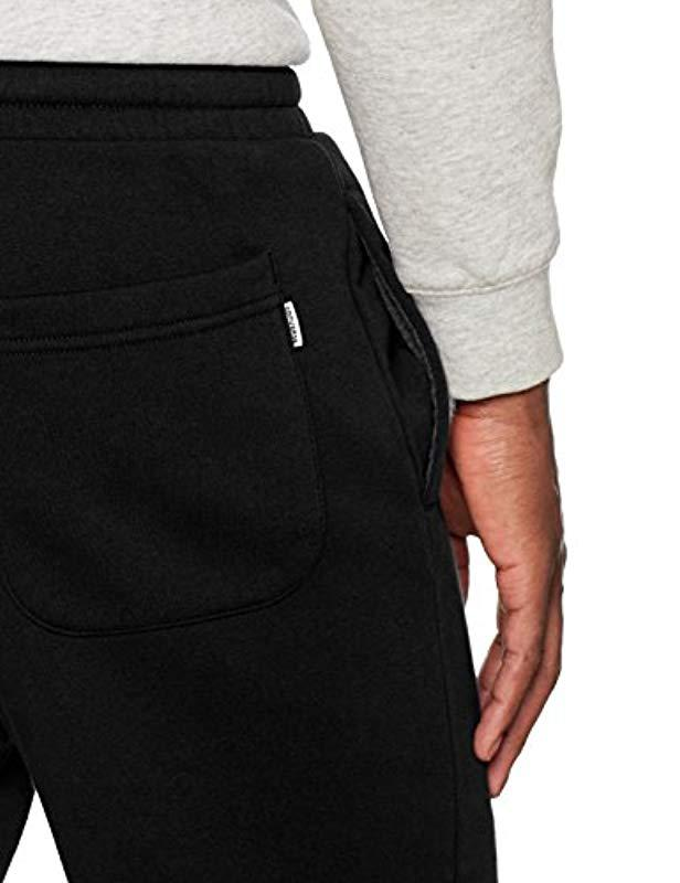 b4533307437 Converse Core Jogger Sports Pants in Black for Men - Lyst