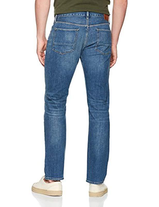 6042cd10 Tommy Hilfiger Denton-str Norman Blue Straight Jeans in Blue for Men ...