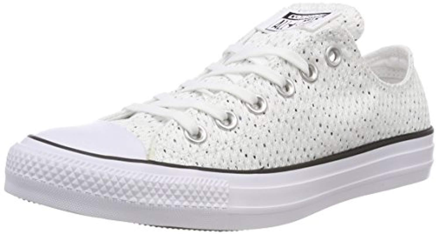 3f8f36233bf8 Converse Unisex Adults  Chuck Taylor Ctas Ox Textile Fitness Shoes ...
