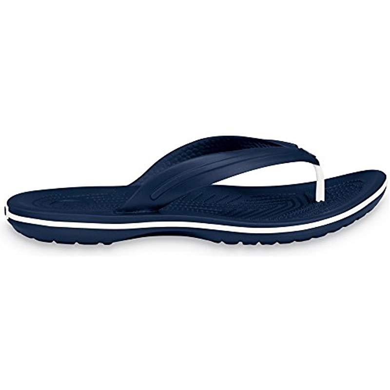 99133758e881 Crocs™ Crocband Flip Unisex Adult Flip Flop in Blue for Men - Lyst